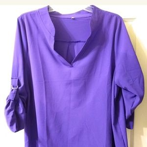 Purple Dress shirt purple blouse